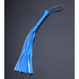 Голубая мини-плеть с 20 хвостами - 40 см.