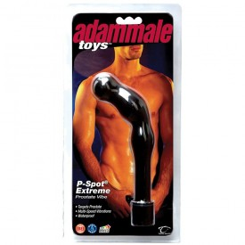 Массажер простаты с вибрацией Adam Male Toys P-Spot Extreme - 18 см.