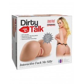 Вагина-полуторс Dirty Talk Interactive Fuck Me Silly